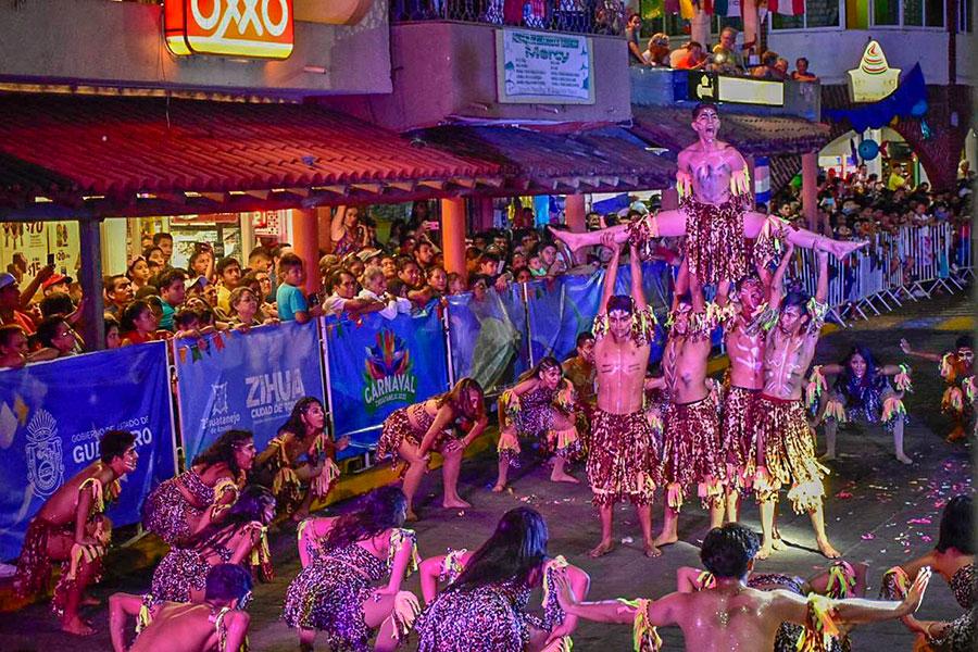 Carnaval zihuatanejo 2020