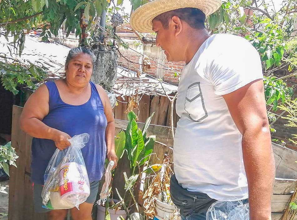 Apoyo alimentario covid 19 zihuatanejo