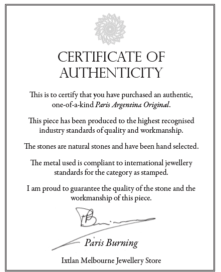 POA certificate of authenticity