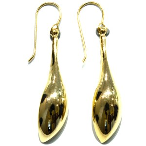 Bold and Elegant Gold Earrings