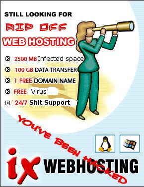 Ix web hosting worst host ever