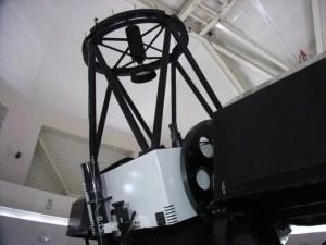 口径1.3メートルの反射望遠鏡:仙台市天文台に行ってきました