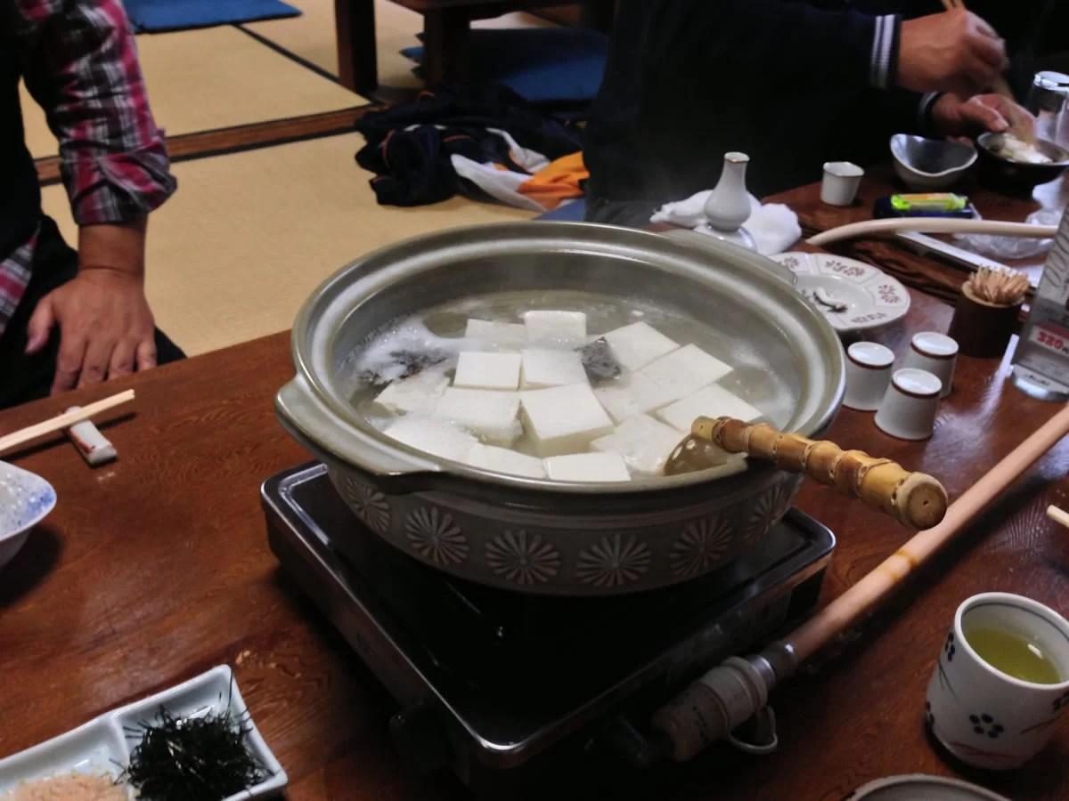 「㐂さ起(きさき)」の湯豆腐