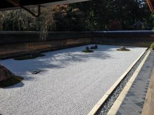 虎の子渡しの庭とも言われる:京都、龍安寺