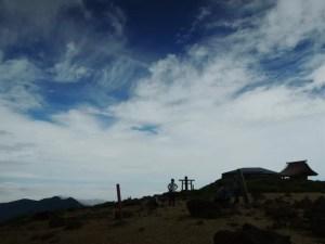 蔵王の熊野岳に登る - 2014年夏