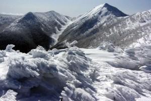 蔵王連峰(北蔵王)のカケスガ峰に登る ー 2015年3月
