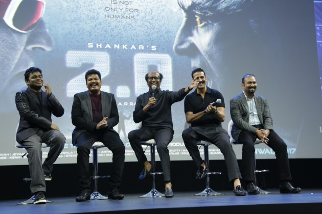 2.0 movie first look launch event video