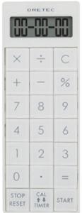 【dretec】便利計算機&計時器(CL-116WT)