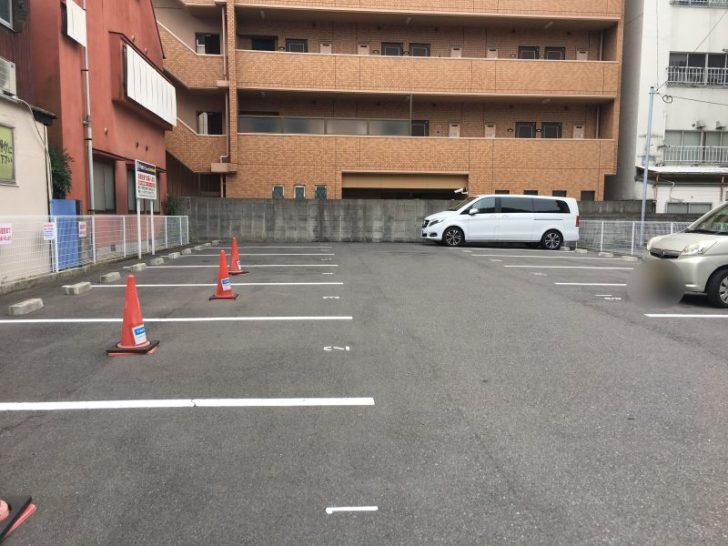 らーめん一力駐車場