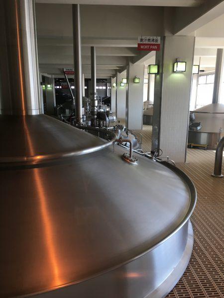 キリンビール工場見学タンク
