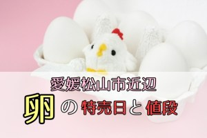 愛媛,卵の値段
