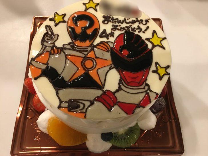 あん庵,キャラクターケーキ