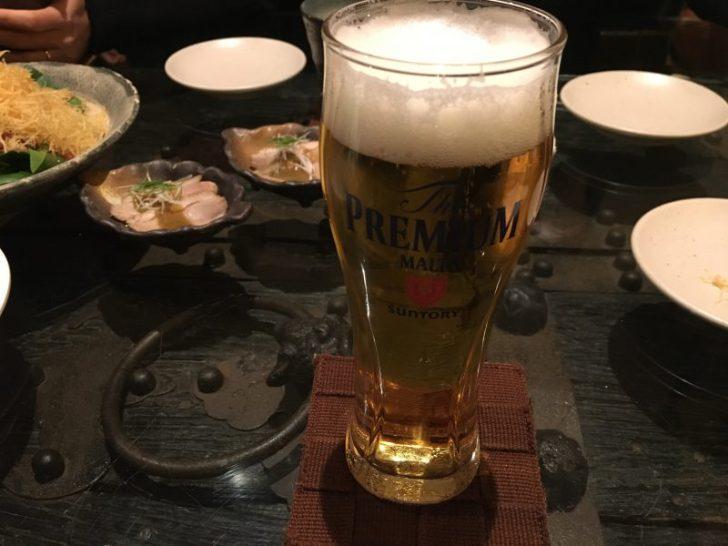 飯台,ビール