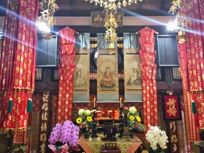 天徳寺本堂部屋内