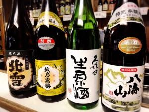 新潟の日本酒