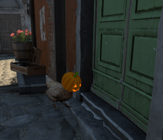 halloween chicken