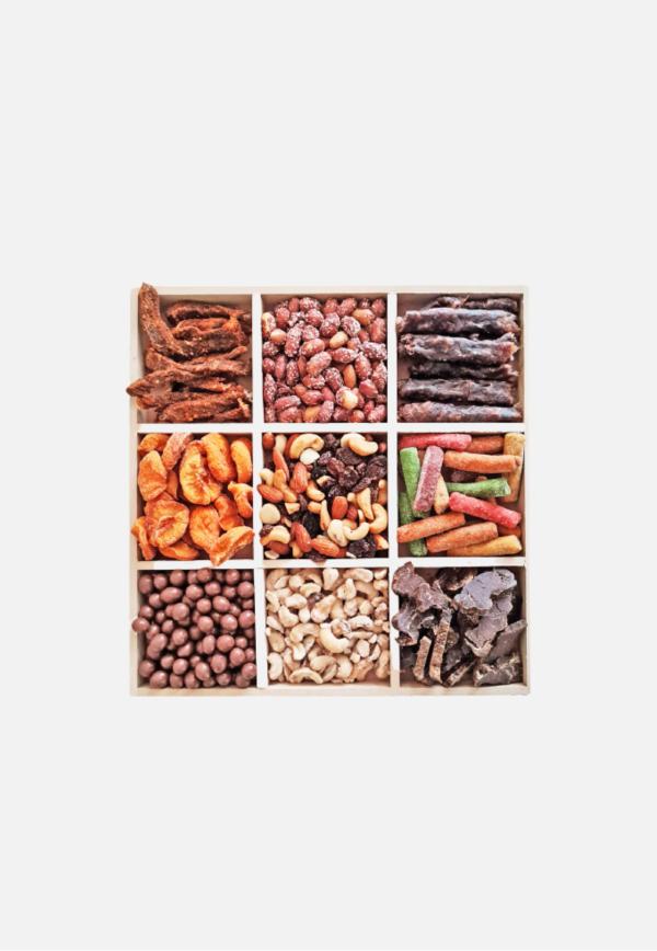 Nuts, Biltong & Dried Fruit Box
