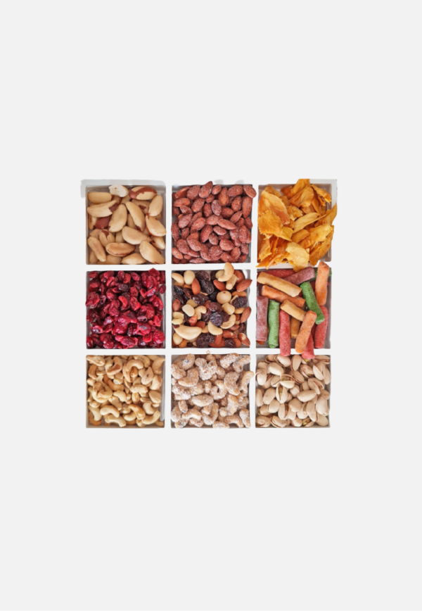 Selection of Nuts and Dried Fruit