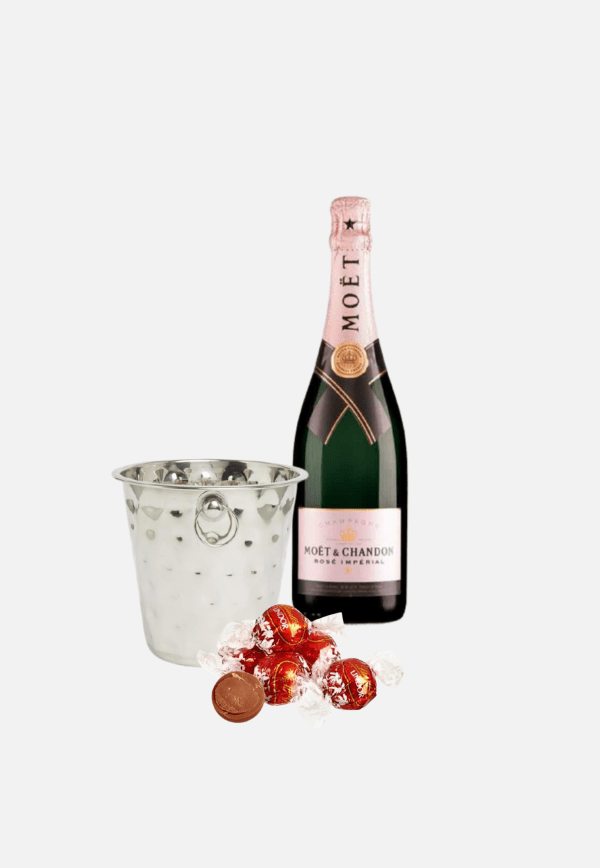 Moet Rose Ice Bucket