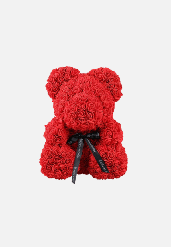 Mother's Day Red Foam Rose Teddy