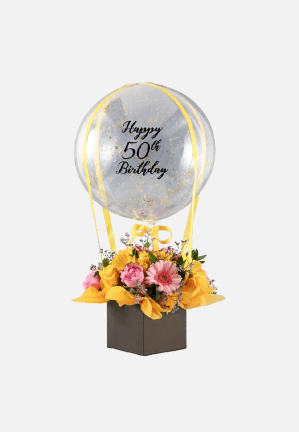 Personalised Birthday Balloon Arrangement