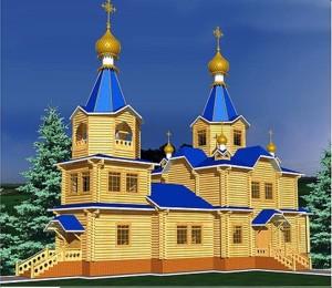 деревянные церкви проекты