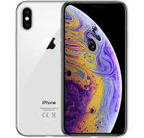 Apple iPhone XS Max Silver contracts