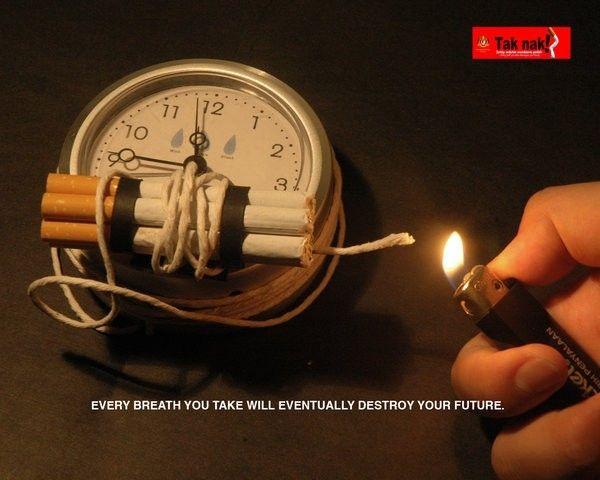 ada bom waktu di setiap nafas perokok