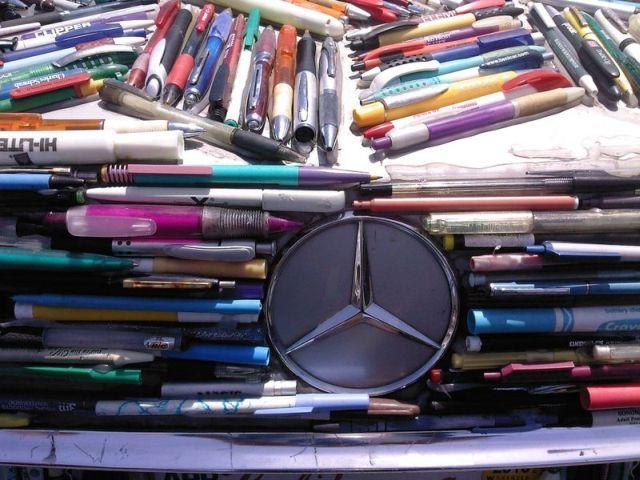 Mercedes Pens – a new car with lots of colors! (26 pics)