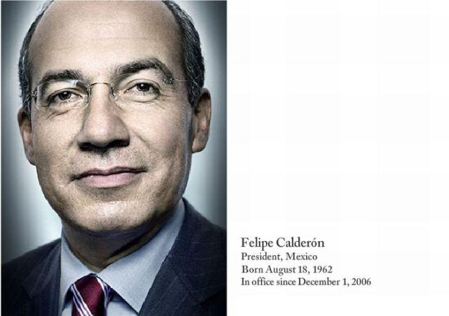 Portraits of World Leaders (49 pics)