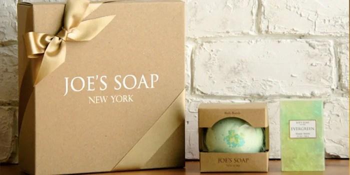 【JOE'S SOAP】グラスソープとバスボムのセット