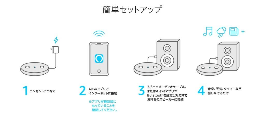 Echo input setup