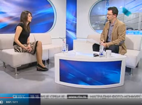 Koordinatorka SOS službe IZ KRUGA – VOJVODINA, RTV