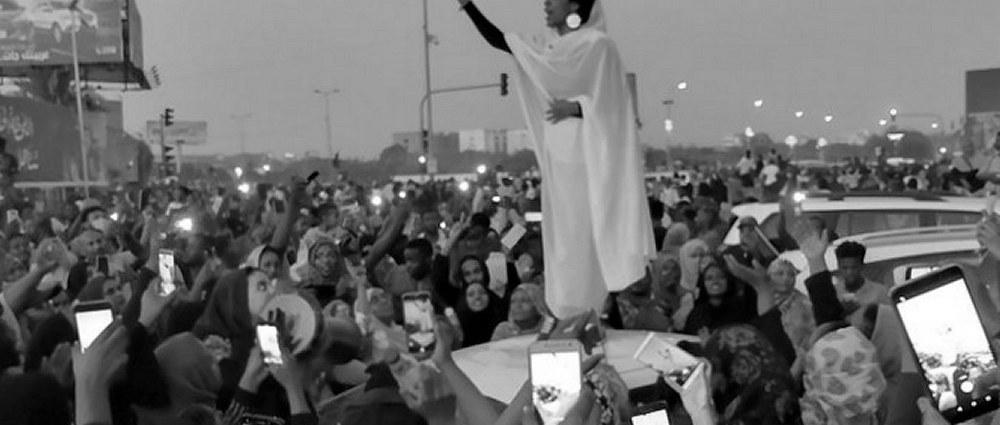 Alaa Salah photographed by Lana H. Haroun