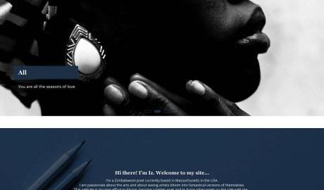 Part of a screenshot from the new izmazano.com website