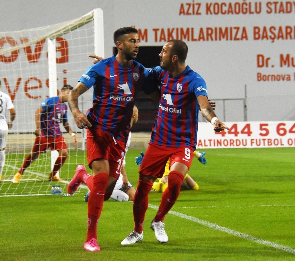 TFF 1. Lig: Altınordu: 2 – Altay: 1