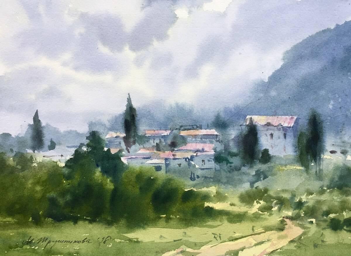 Үйлермен пейзаж