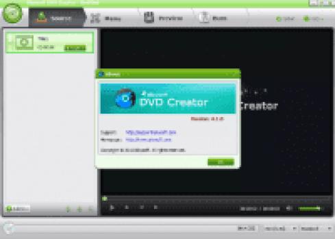 iSkysoft DVD Creator v6.1.1.75 Crack Full Version