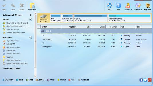 MiniTool Partition Wizard Pro 11.6 Full Crack