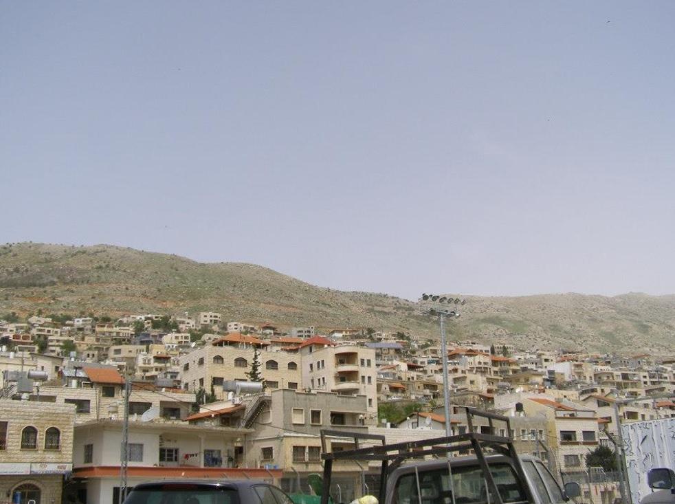 Majdal Shams - fotó: Grünhut Éva