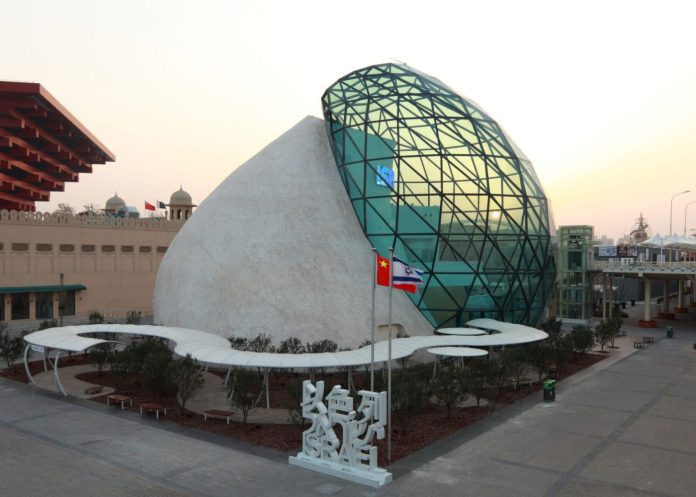 Dotan standja a Shanghaji Expon (SHEN QIANG /Külügyminisztérium)