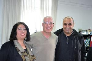 Arab-zsidó kultúrház vezetői