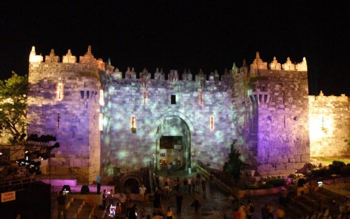 Fény fesztivál Jeruzsálemben - fotó: Ron Almog / Flickr
