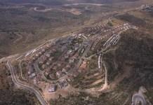 Légi felvétel a Ramallahtól nyugatra lévő Talmon településről Ciszjordániában - fotó: Moshe Milner / GPO