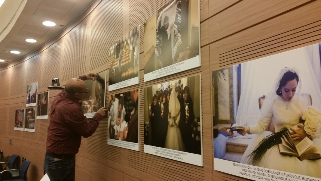 Kluger Zoltán és Kallos Bea Bar fotókiállítás a Kneszetben