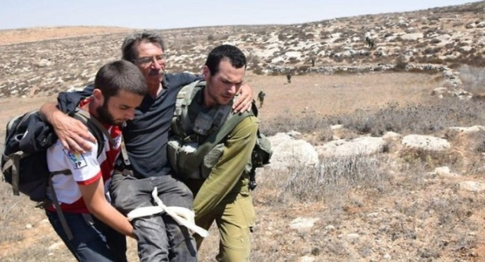 baloldali aktivista serult telepesek tamadasa utan izraelben