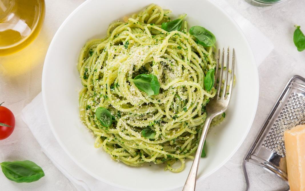 spagetti pestoval