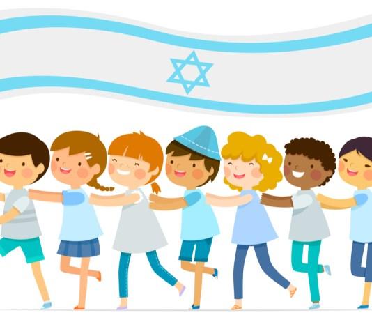 sokszinu izraeli zaszloval gyerekek