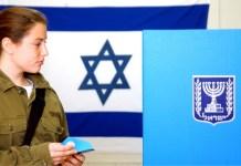 izraeli katonalany szavaz zaszlo