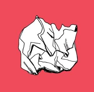 osszegyort papir piros rozsaszin rajz